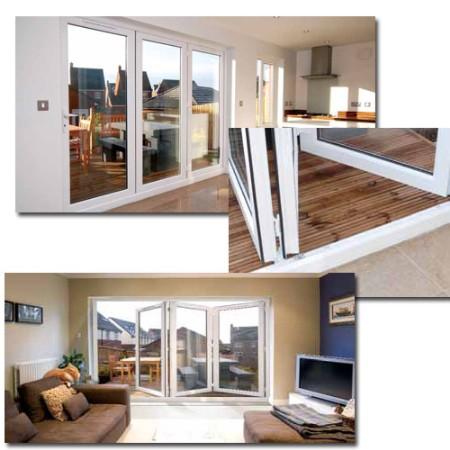 pvcu bifold doors bromley.  sc 1 st  room-makers.com & Express Bi Fold Doors. Zoom. Express Bifold Doors. Sunflex Sf ...