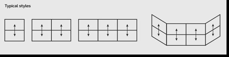Vertical Slider Windows Styles