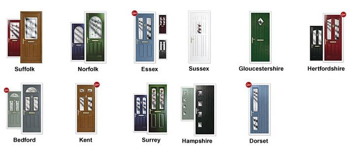 Composite Doors Bromley Country Range