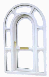 PVC-U Arch Windows and Doors