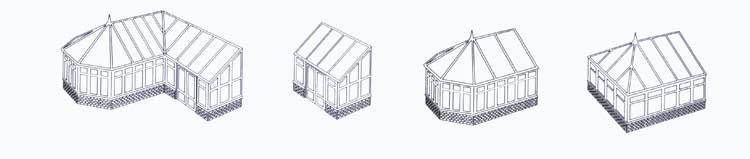 Conservatories Drawings
