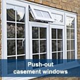 Push Out Casement Windows