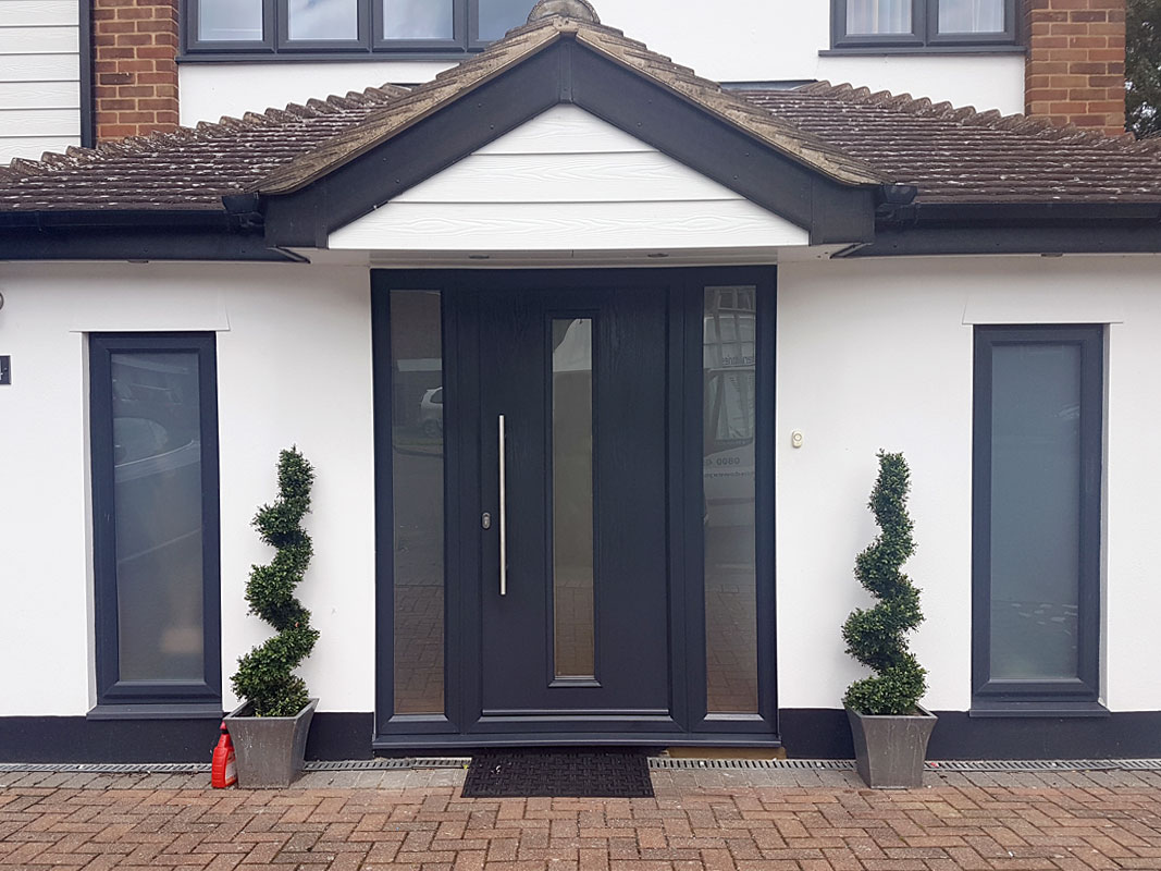 Composite doors bromley sidcup window express for Glass windows and doors